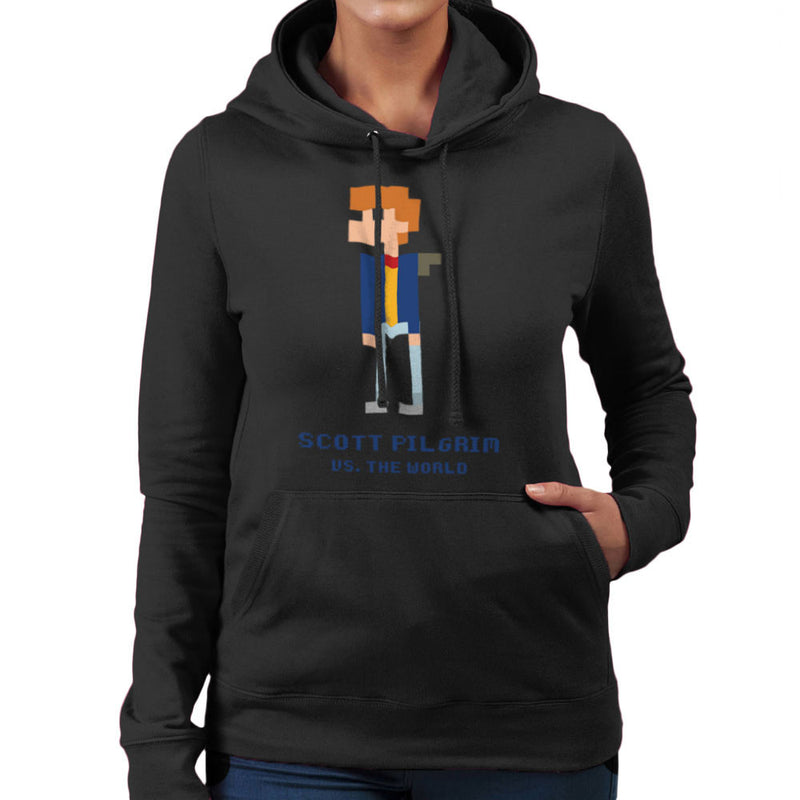 Scott Pilgrim Vs The World Pixel Women's Hooded Sweatshirt Women's Hooded Sweatshirt Cloud City 7 - 2