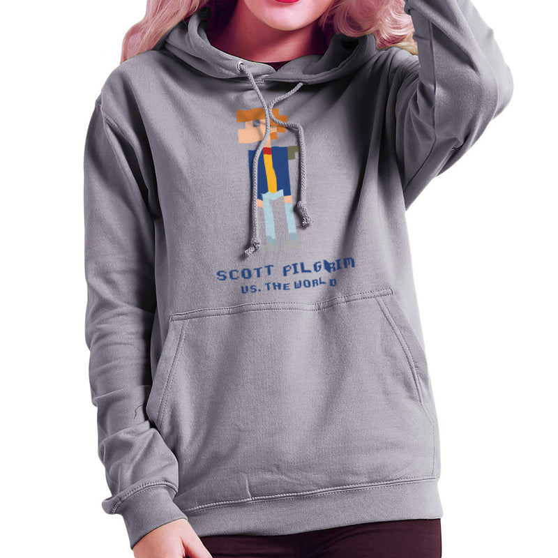 Scott Pilgrim Vs The World Pixel Women's Hooded Sweatshirt Women's Hooded Sweatshirt Cloud City 7 - 5