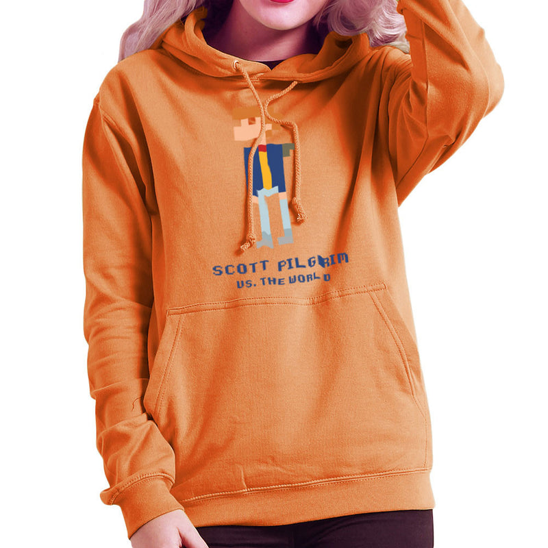 Scott Pilgrim Vs The World Pixel Women's Hooded Sweatshirt Women's Hooded Sweatshirt Cloud City 7 - 17