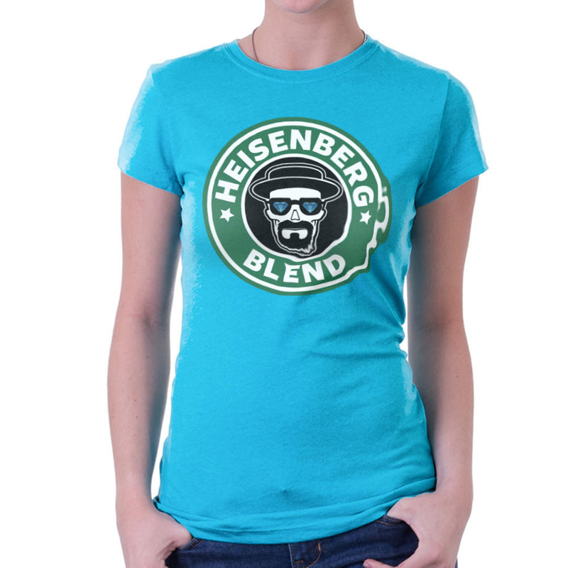 Breaking Bad Starbucks Heisenberg Blend Coffee Women's T-Shirt by Pheasant Omelette - Cloud City 7