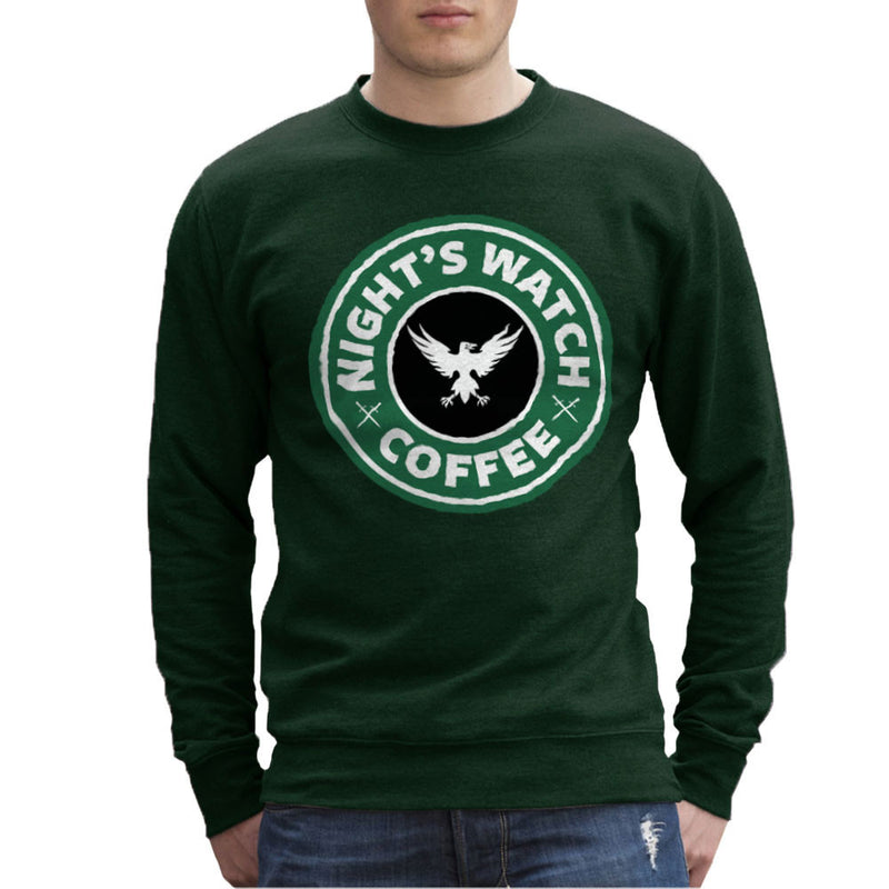 Game Of Thrones Night's Watch Starbucks Coffee Men's Sweatshirt Men's Sweatshirt Cloud City 7 - 13