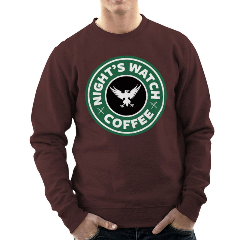 Game Of Thrones Night's Watch Starbucks Coffee Men's Sweatshirt Men's Sweatshirt Cloud City 7 - 12