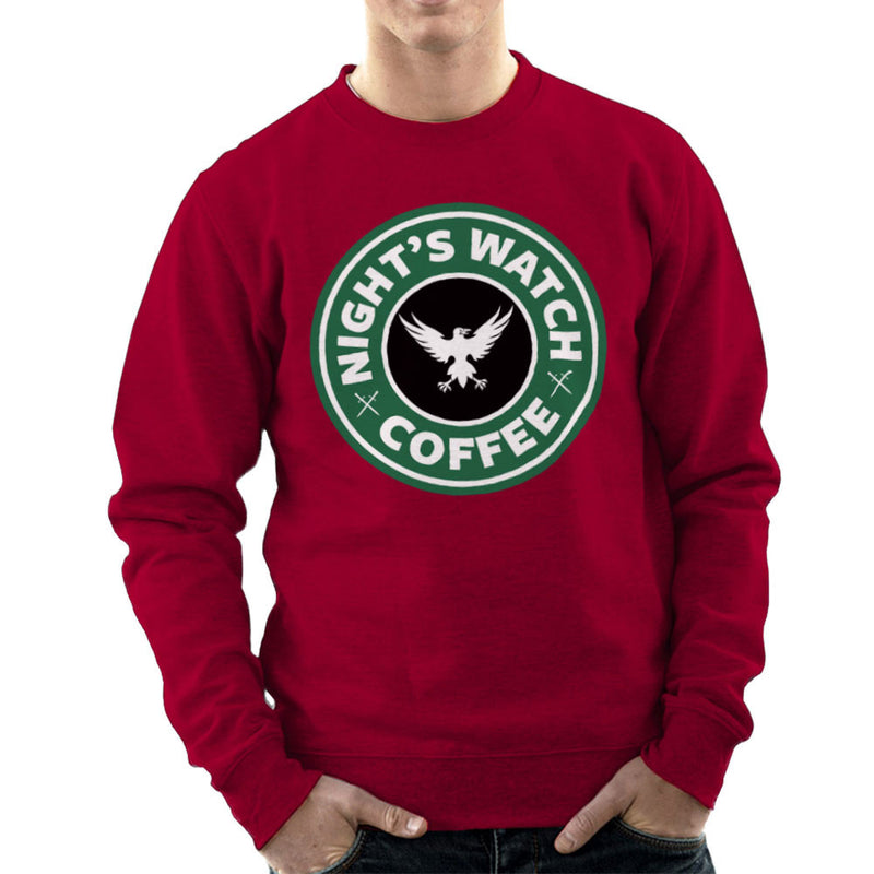 Game Of Thrones Night's Watch Starbucks Coffee Men's Sweatshirt Men's Sweatshirt Cloud City 7 - 15