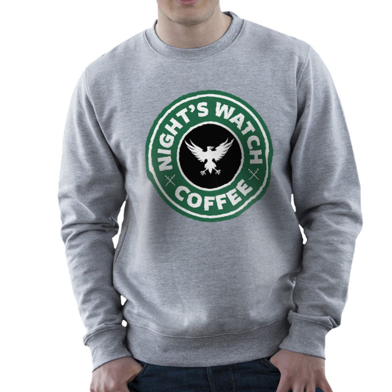 Game Of Thrones Night's Watch Starbucks Coffee Men's Sweatshirt Men's Sweatshirt Cloud City 7 - 5