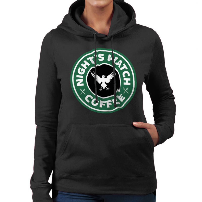 Game Of Thrones Night's Watch Starbucks Coffee Women's Hooded Sweatshirt Women's Hooded Sweatshirt Cloud City 7 - 2