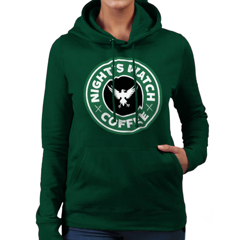 Game Of Thrones Night's Watch Starbucks Coffee Women's Hooded Sweatshirt Women's Hooded Sweatshirt Cloud City 7 - 13