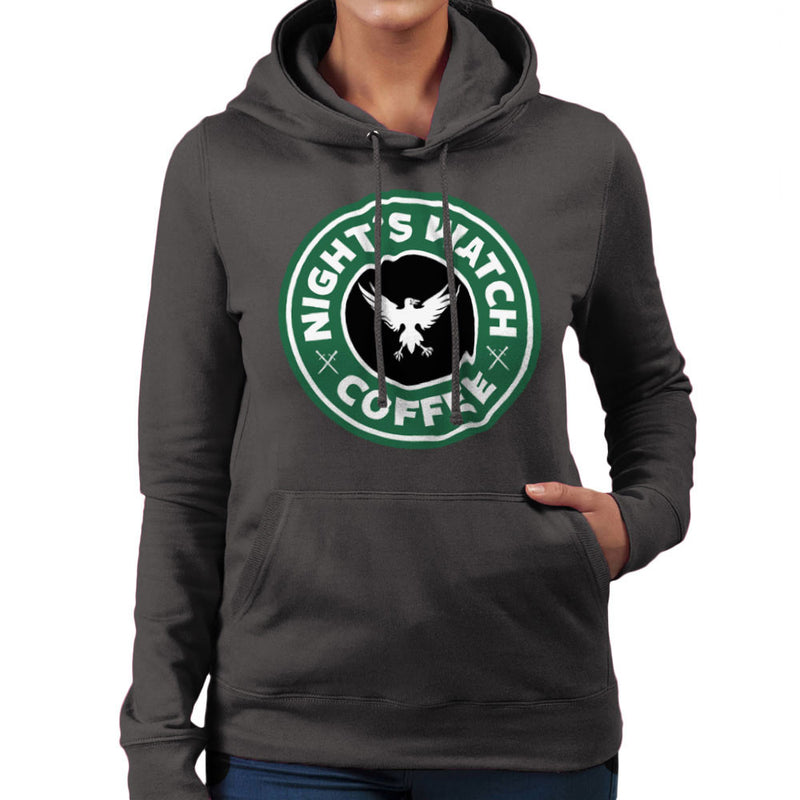 Game Of Thrones Night's Watch Starbucks Coffee Women's Hooded Sweatshirt Women's Hooded Sweatshirt Cloud City 7 - 4