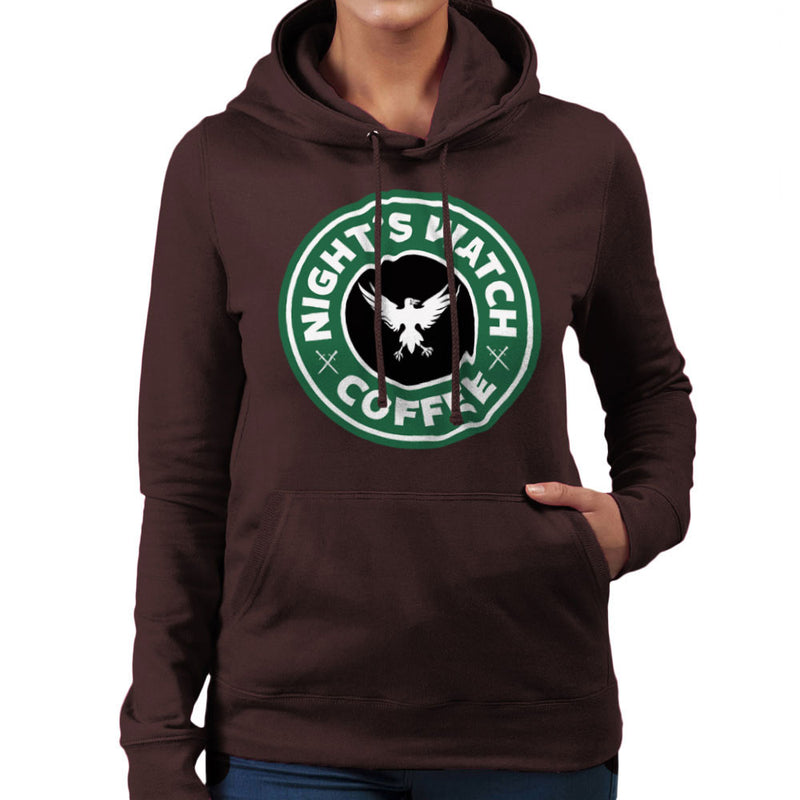 Game Of Thrones Night's Watch Starbucks Coffee Women's Hooded Sweatshirt Women's Hooded Sweatshirt Cloud City 7 - 12