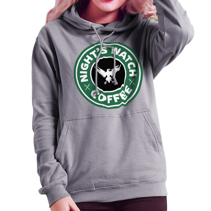 Game Of Thrones Night's Watch Starbucks Coffee Women's Hooded Sweatshirt Women's Hooded Sweatshirt Cloud City 7 - 5
