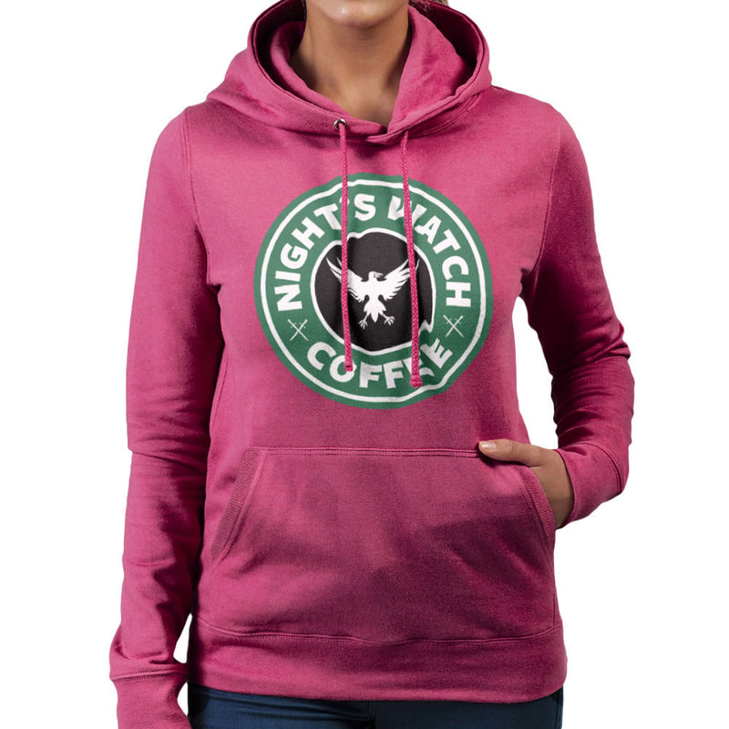 Game Of Thrones Night's Watch Starbucks Coffee Women's Hooded Sweatshirt Women's Hooded Sweatshirt Cloud City 7 - 20