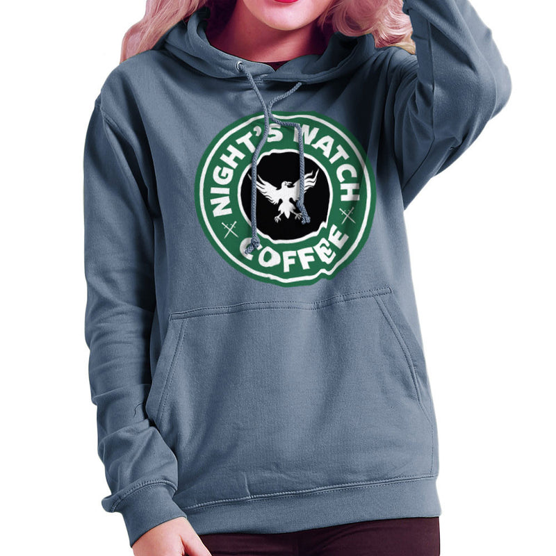 Game Of Thrones Night's Watch Starbucks Coffee Women's Hooded Sweatshirt Women's Hooded Sweatshirt Cloud City 7 - 9