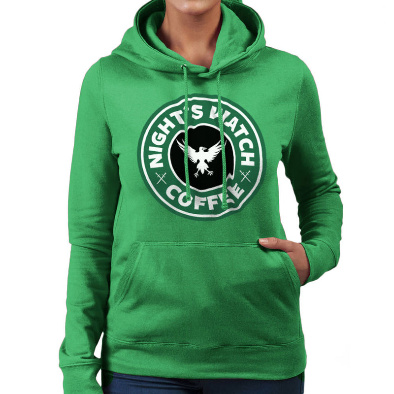 Game Of Thrones Night's Watch Starbucks Coffee Women's Hooded Sweatshirt Women's Hooded Sweatshirt Cloud City 7 - 14