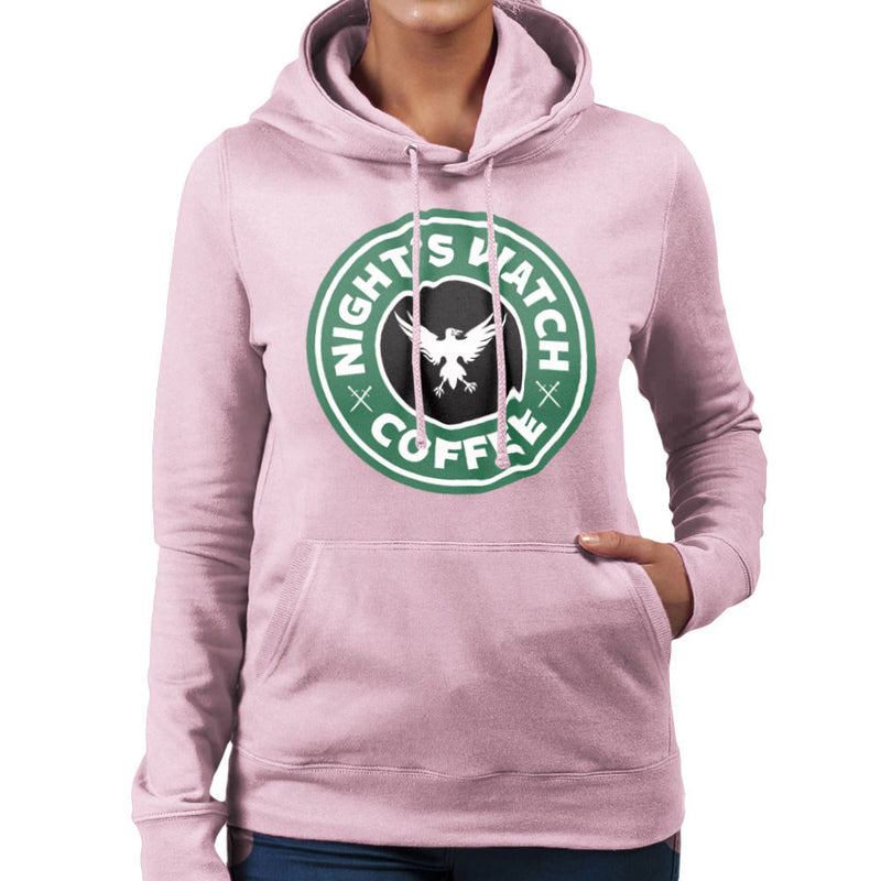 Game Of Thrones Night's Watch Starbucks Coffee Women's Hooded Sweatshirt Women's Hooded Sweatshirt Cloud City 7 - 21