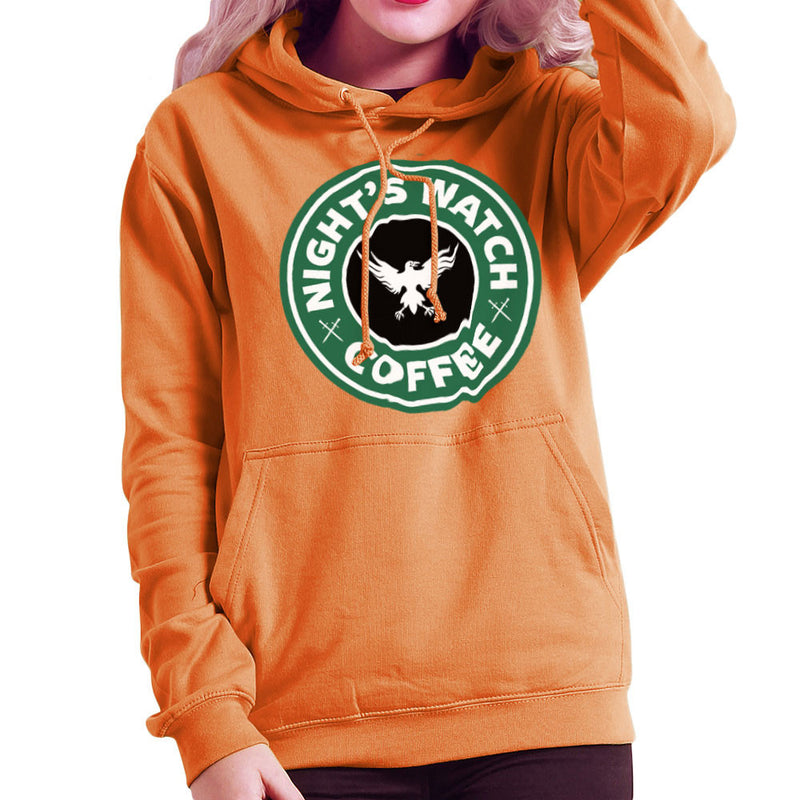 Game Of Thrones Night's Watch Starbucks Coffee Women's Hooded Sweatshirt Women's Hooded Sweatshirt Cloud City 7 - 17