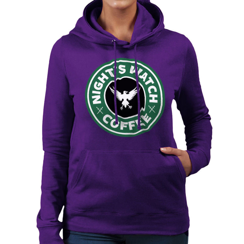Game Of Thrones Night's Watch Starbucks Coffee Women's Hooded Sweatshirt Women's Hooded Sweatshirt Cloud City 7 - 19