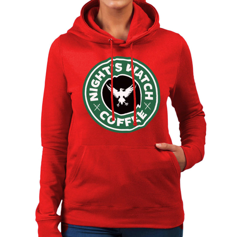 Game Of Thrones Night's Watch Starbucks Coffee Women's Hooded Sweatshirt Women's Hooded Sweatshirt Cloud City 7 - 16