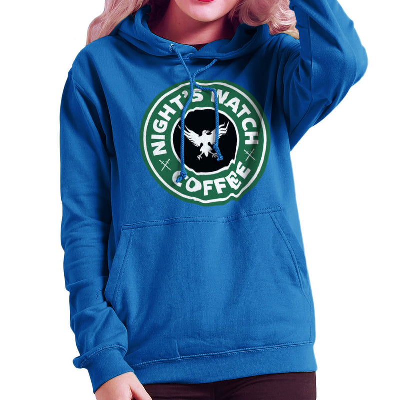 Game Of Thrones Night's Watch Starbucks Coffee Women's Hooded Sweatshirt Women's Hooded Sweatshirt Cloud City 7 - 8