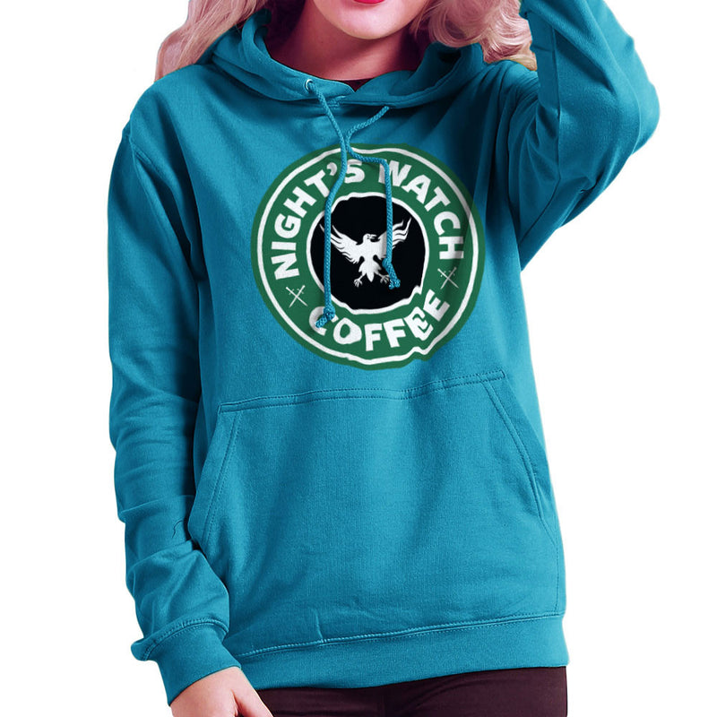 Game Of Thrones Night's Watch Starbucks Coffee Women's Hooded Sweatshirt Women's Hooded Sweatshirt Cloud City 7 - 10