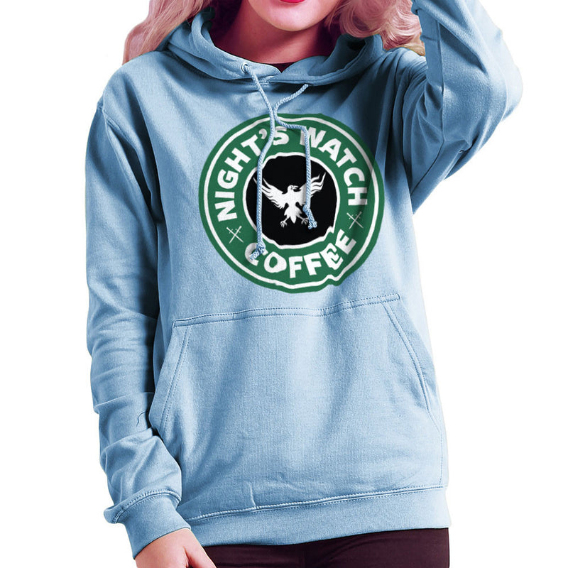 Game Of Thrones Night's Watch Starbucks Coffee Women's Hooded Sweatshirt Women's Hooded Sweatshirt Cloud City 7 - 11