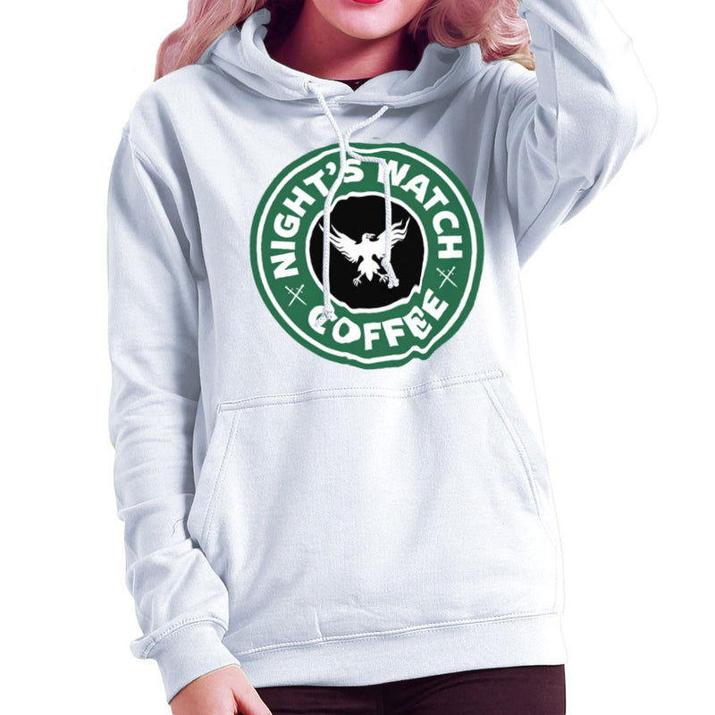 Game Of Thrones Night's Watch Starbucks Coffee Women's Hooded Sweatshirt Women's Hooded Sweatshirt Cloud City 7 - 6