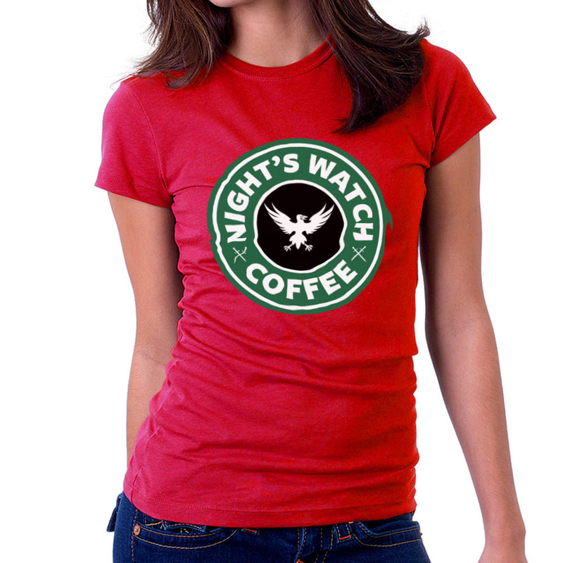 Game Of Thrones Night's Watch Starbucks Coffee Women's T-Shirt Women's T-Shirt Cloud City 7 - 15