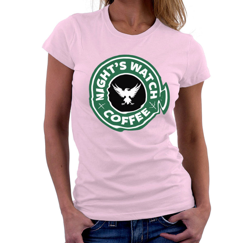 Game Of Thrones Night's Watch Starbucks Coffee Women's T-Shirt Women's T-Shirt Cloud City 7 - 21