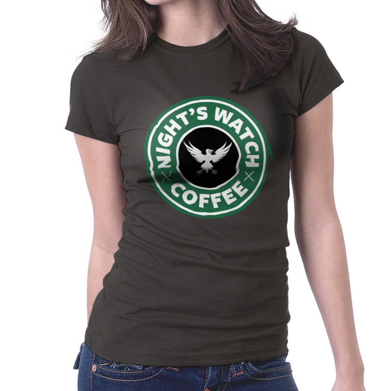 Game Of Thrones Night's Watch Starbucks Coffee Women's T-Shirt Women's T-Shirt Cloud City 7 - 1