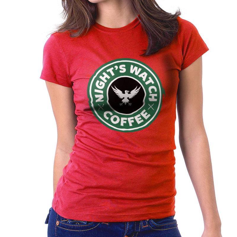 Game Of Thrones Night's Watch Starbucks Coffee Women's T-Shirt Women's T-Shirt Cloud City 7 - 16