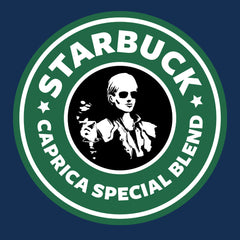 Battlestar Galactica Starbucks Starbuck Caprica Special Blend Coffee design Cloud City 7 - 1