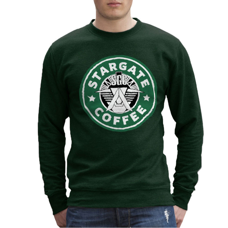 Stargate SGC Starbucks Coffee Men's Sweatshirt Men's Sweatshirt Cloud City 7 - 13