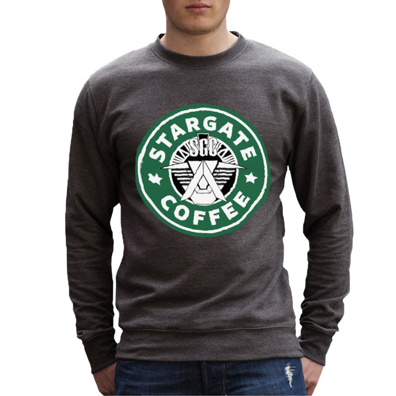 Stargate SGC Starbucks Coffee Men's Sweatshirt Men's Sweatshirt Cloud City 7 - 4