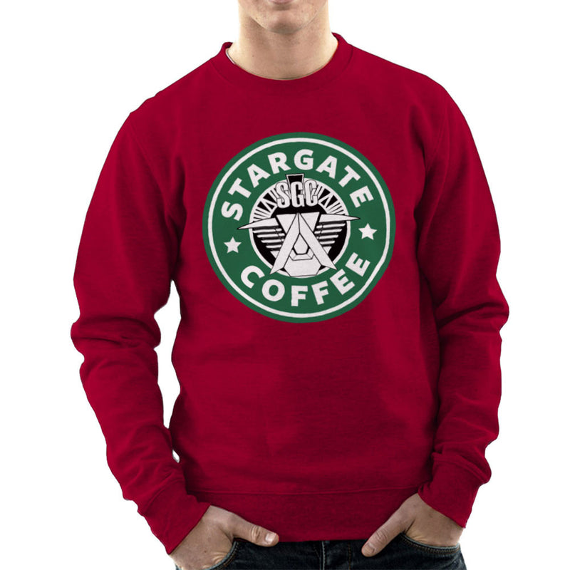 Stargate SGC Starbucks Coffee Men's Sweatshirt Men's Sweatshirt Cloud City 7 - 15