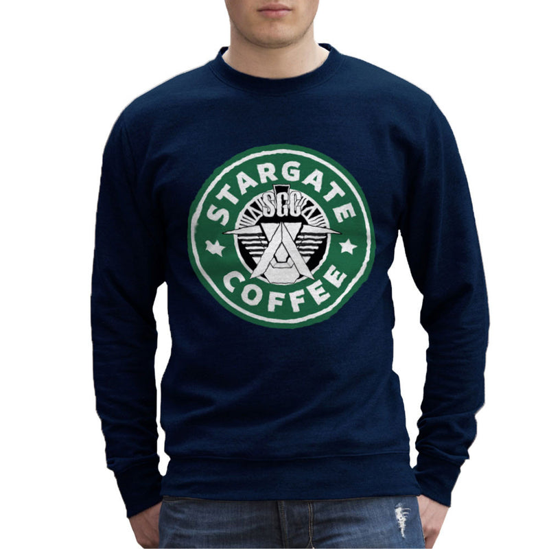 Stargate SGC Starbucks Coffee Men's Sweatshirt Men's Sweatshirt Cloud City 7 - 7