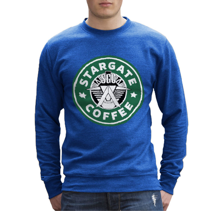 Stargate SGC Starbucks Coffee Men's Sweatshirt Men's Sweatshirt Cloud City 7 - 8