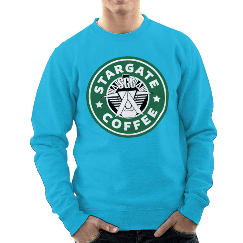 Stargate SGC Starbucks Coffee Men's Sweatshirt Men's Sweatshirt Cloud City 7 - 10