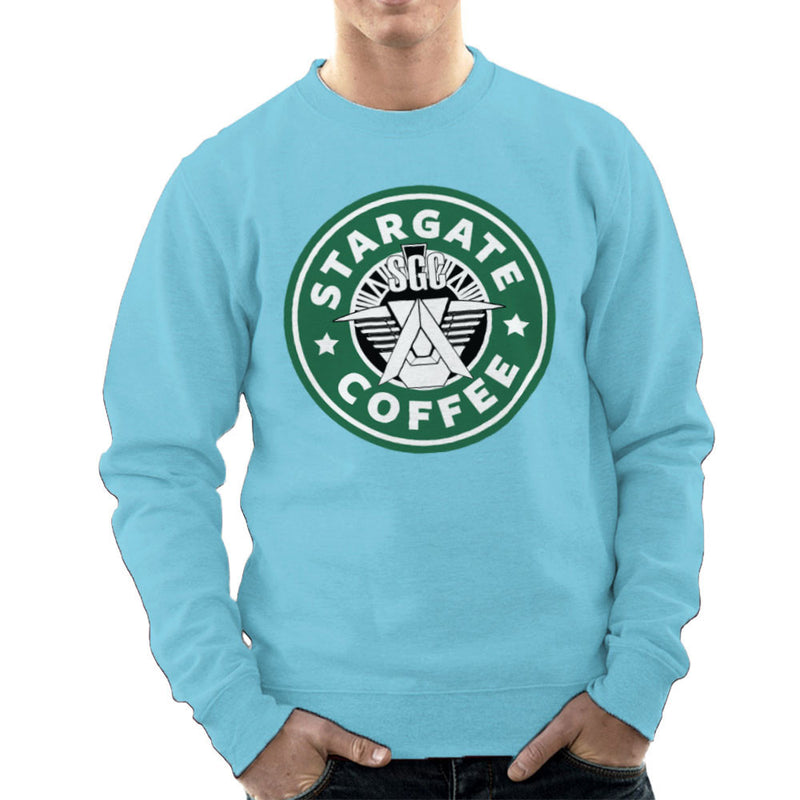 Stargate SGC Starbucks Coffee Men's Sweatshirt Men's Sweatshirt Cloud City 7 - 11