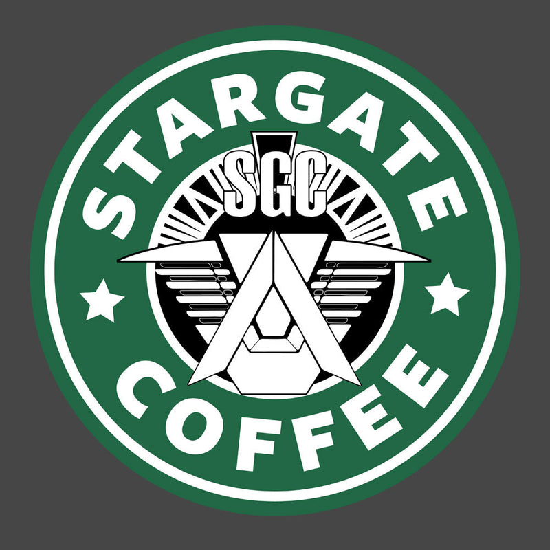 Stargate SGC Starbucks Coffee Men's Vest by Pheasant Omelette - Cloud City 7