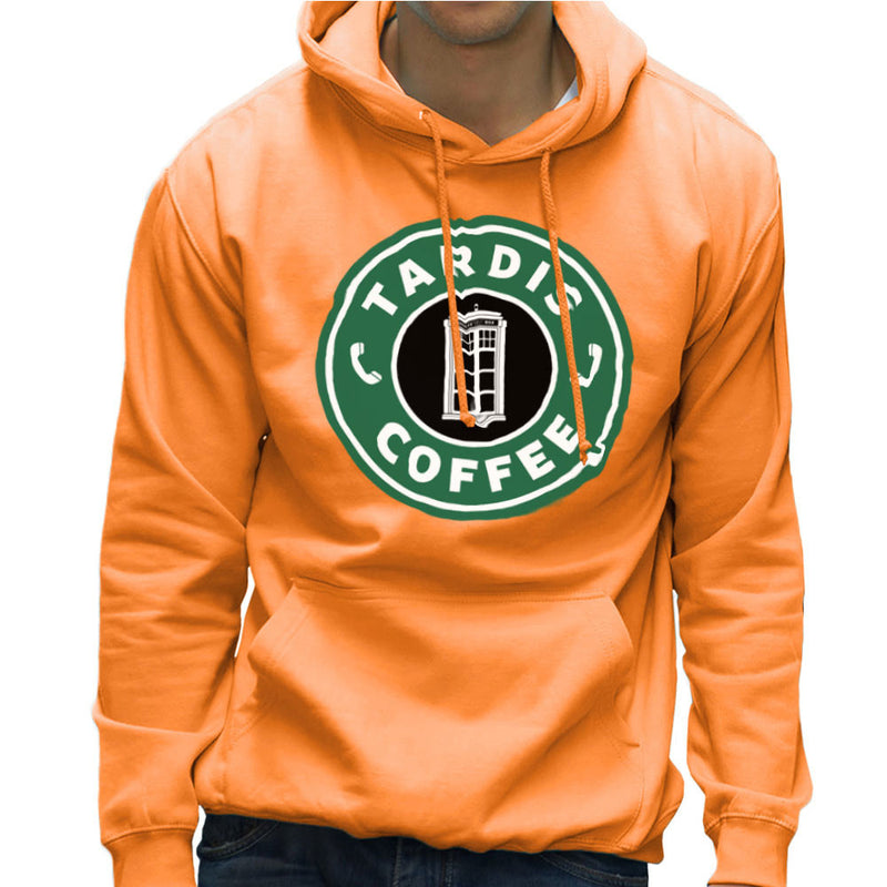 Dr Who Tardis Starbucks Coffee Men's Hooded Sweatshirt Men's Hooded Sweatshirt Cloud City 7 - 17