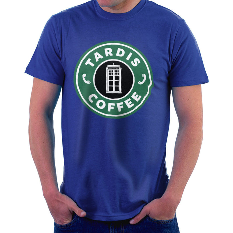 Dr Who Tardis Starbucks Coffee by Pheasant Omelette - Cloud City 7