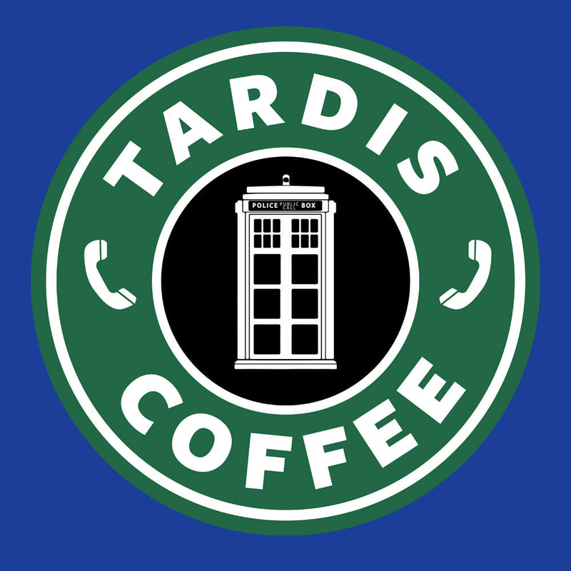 Dr Who Tardis Starbucks Coffee Men's Hooded Sweatshirt Men's Hooded Sweatshirt Cloud City 7 - 3