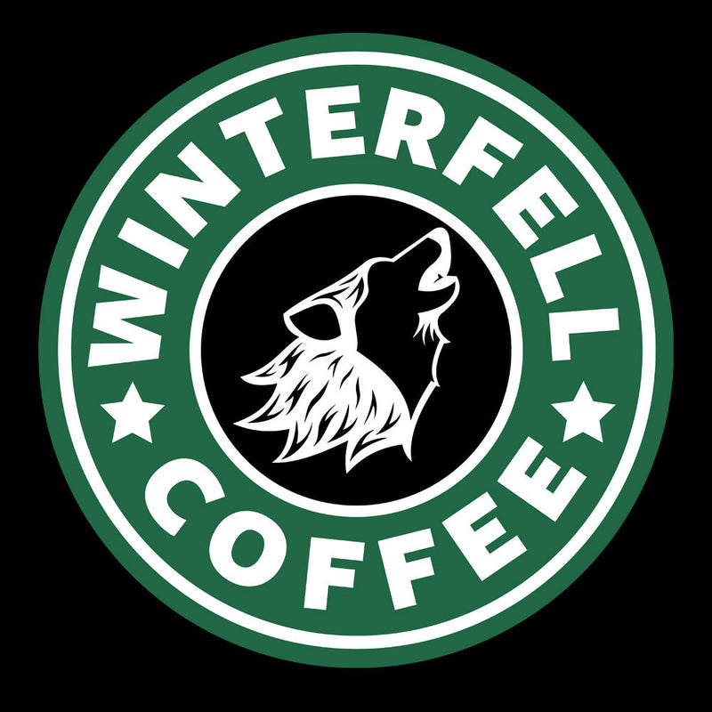 Game Of Thrones Stark Winterfell Starbucks Coffee Men's Vest by Pheasant Omelette - Cloud City 7