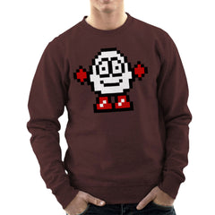 Dizzy Egg Pixel Men's Sweatshirt Men's Sweatshirt Cloud City 7 - 12