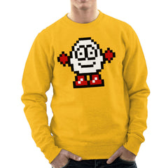 Dizzy Egg Pixel Men's Sweatshirt Men's Sweatshirt Cloud City 7 - 18