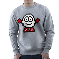 Dizzy Egg Pixel Men's Sweatshirt Men's Sweatshirt Cloud City 7 - 5