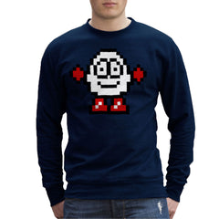 Dizzy Egg Pixel Men's Sweatshirt Men's Sweatshirt Cloud City 7 - 7