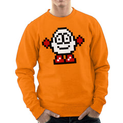 Dizzy Egg Pixel Men's Sweatshirt Men's Sweatshirt Cloud City 7 - 17