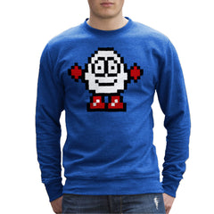 Dizzy Egg Pixel Men's Sweatshirt Men's Sweatshirt Cloud City 7 - 1