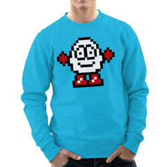 Dizzy Egg Pixel Men's Sweatshirt Men's Sweatshirt Cloud City 7 - 10