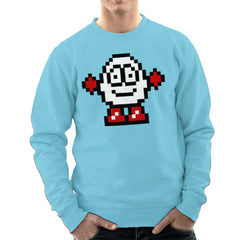 Dizzy Egg Pixel Men's Sweatshirt Men's Sweatshirt Cloud City 7 - 11