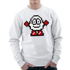 Dizzy Egg Pixel Men's Sweatshirt Men's Sweatshirt Cloud City 7 - 6